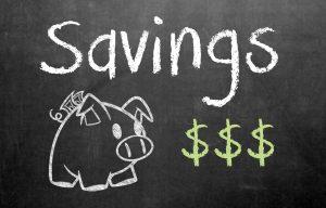 Savings accounts will save your life.